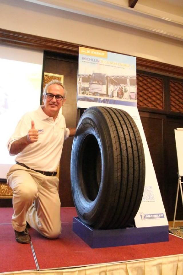 Beltran Yturriaga, Managing Director, Michelin Malaysia Sdn Bhd.
