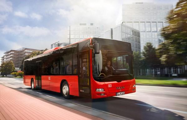 Bus in der City