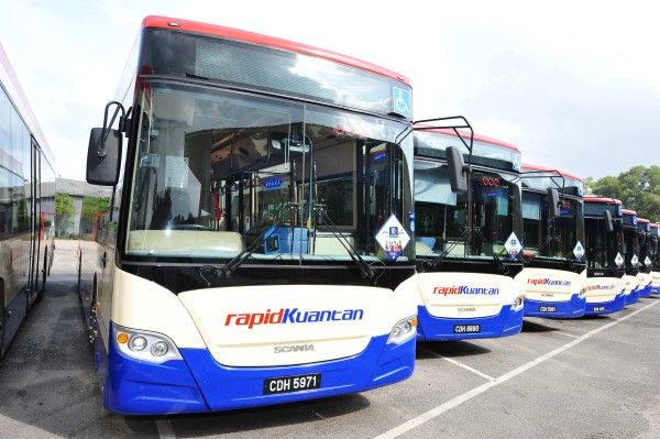 RapidKuantan receives 80 new buses from Scania (Custom)