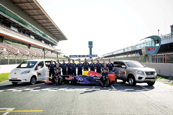 IRBR Team with Nissan LCV at Barcelona_Spain_2 (Custom)