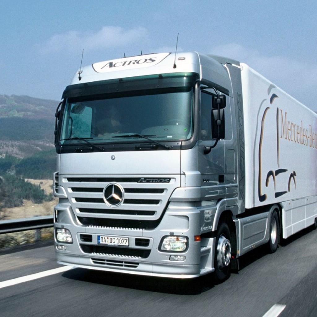 mercedes actros-truck