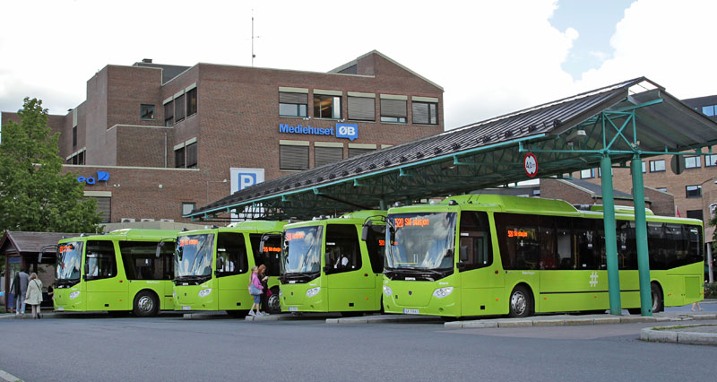 Scania-gas-buses-in-Norway