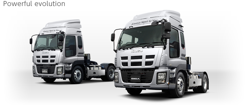 Semi Truck Seats Aftermarket >> Isuzu Giga | BigWheels.my