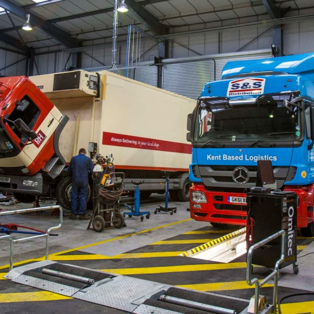 truck workshop