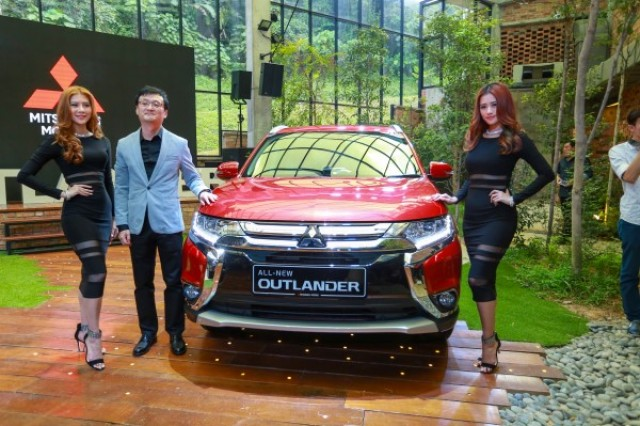 CEO of Mitsubishi Motors Malaysia, Mr. Yang Won-Chul at the media preview of the all-new Mitsubishi Outlander SUV