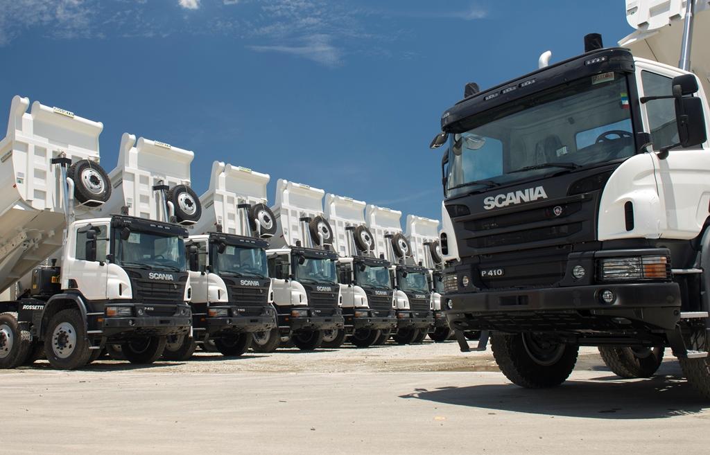 scani trucks