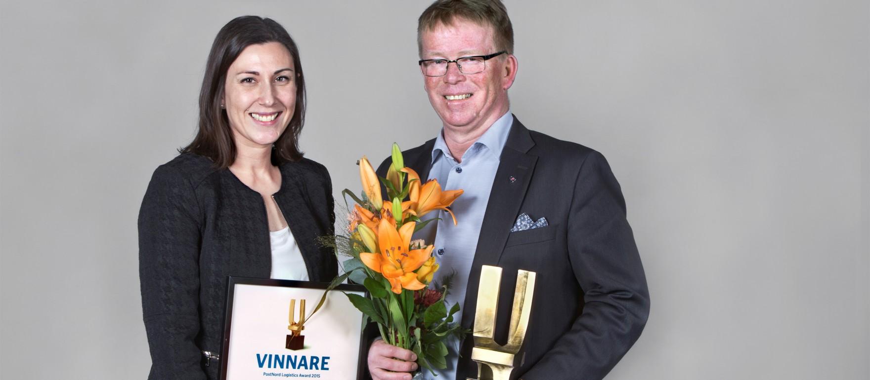 Scania wins logistics award