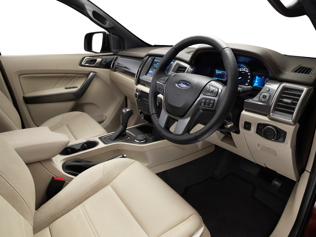 New Ford Everest 2_interior driver