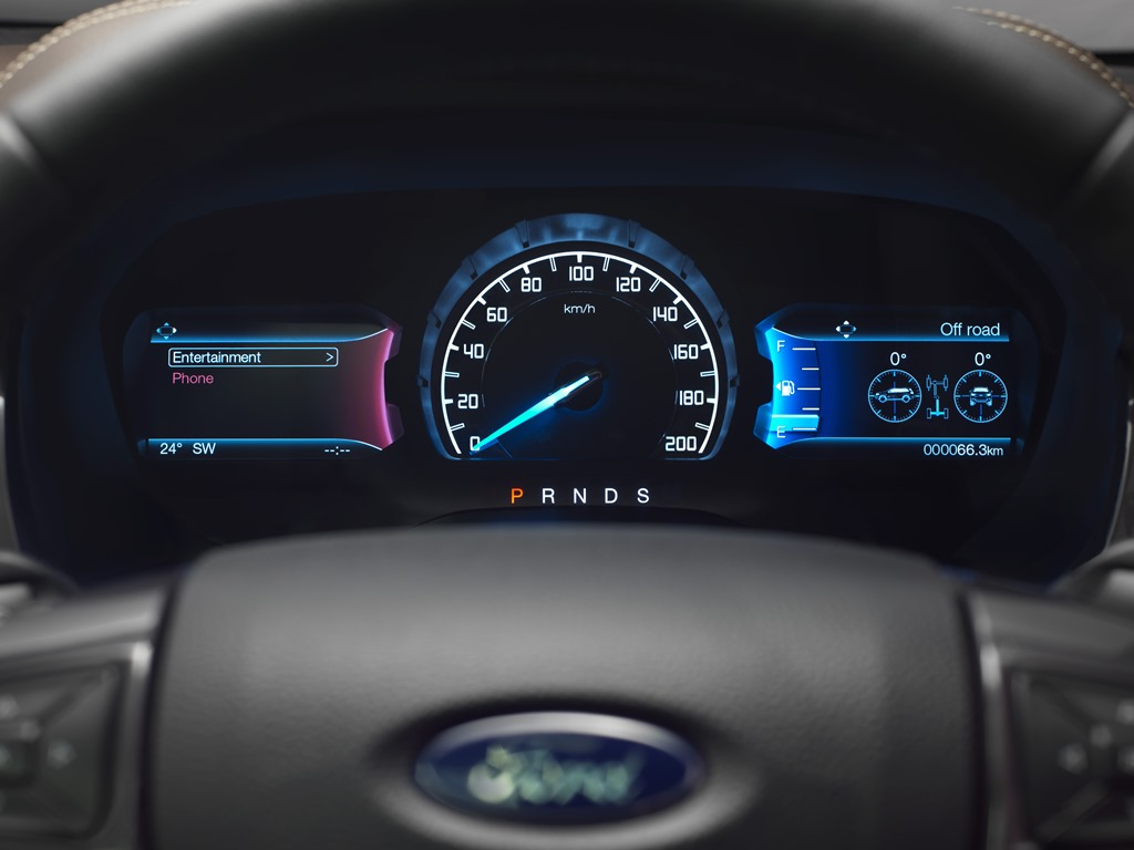 New Ford Everest 4_cluster