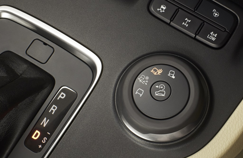 New Ford Everest 5_TMS switch