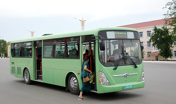 hyundai to provide 500 buses to turkmenistan government. Black Bedroom Furniture Sets. Home Design Ideas