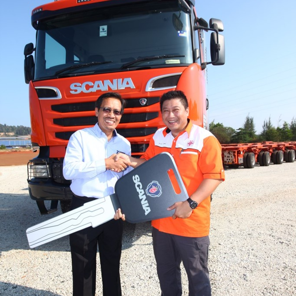 The Scania R580 With Torque Converter Gearbox Will Be The First Of Its Kind  Scania Heavyhauler In Malaysia,u201d Added Alex.