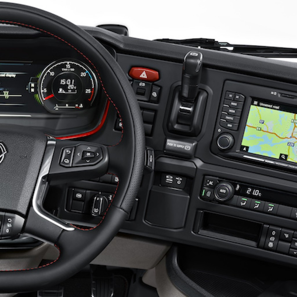 Next Generation Scania: Interior