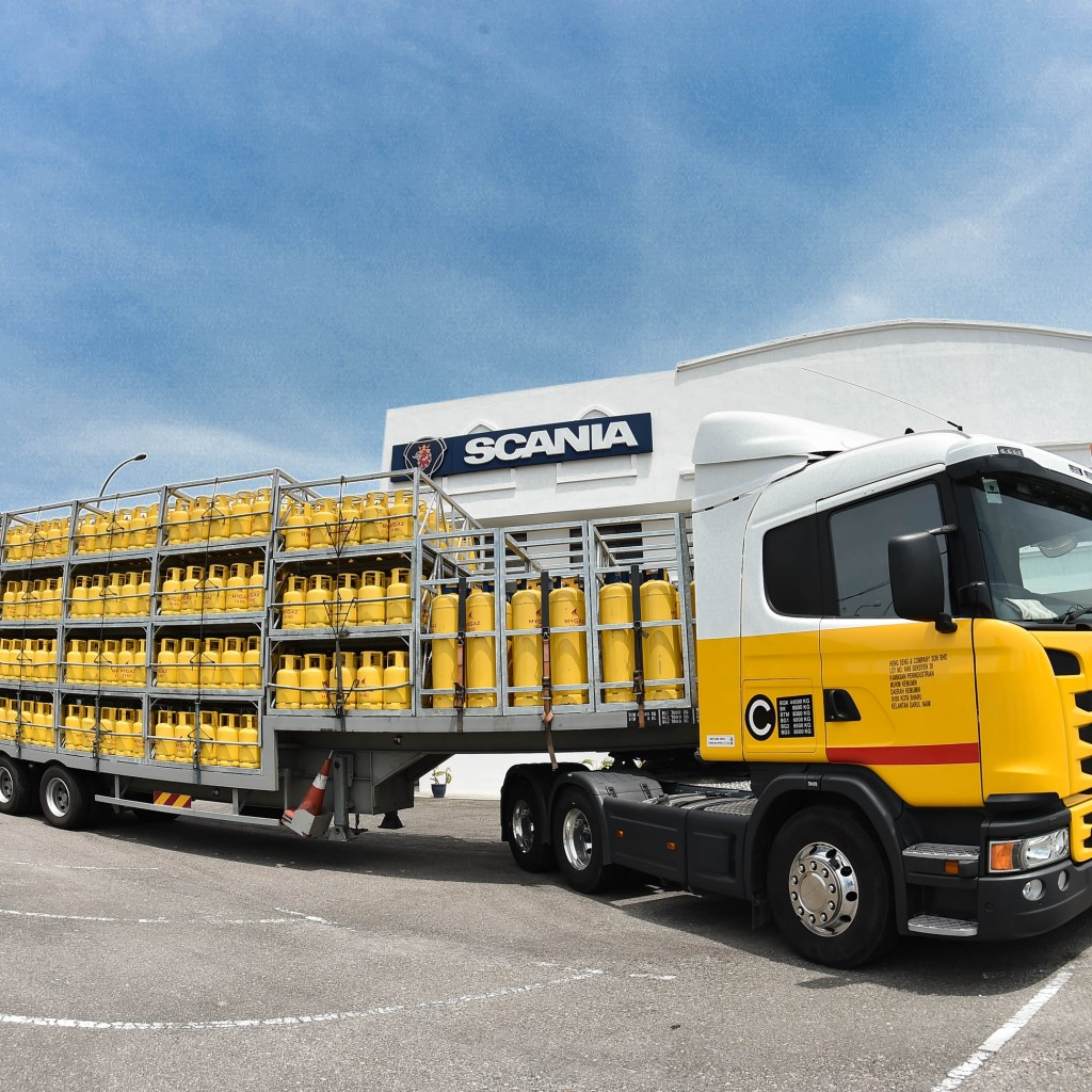 scania truck handover