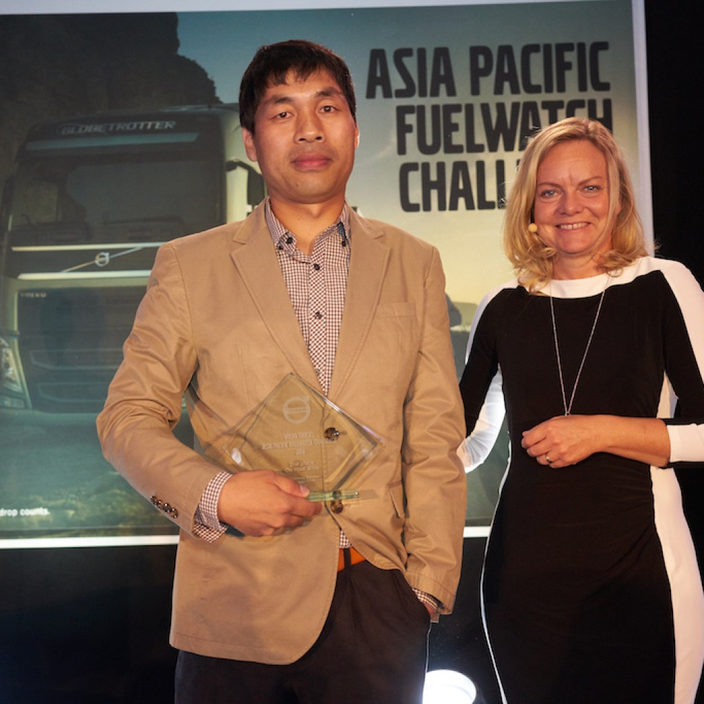 On-road 2nd place - Asia Pacific Fuelwatch Challenge 2016
