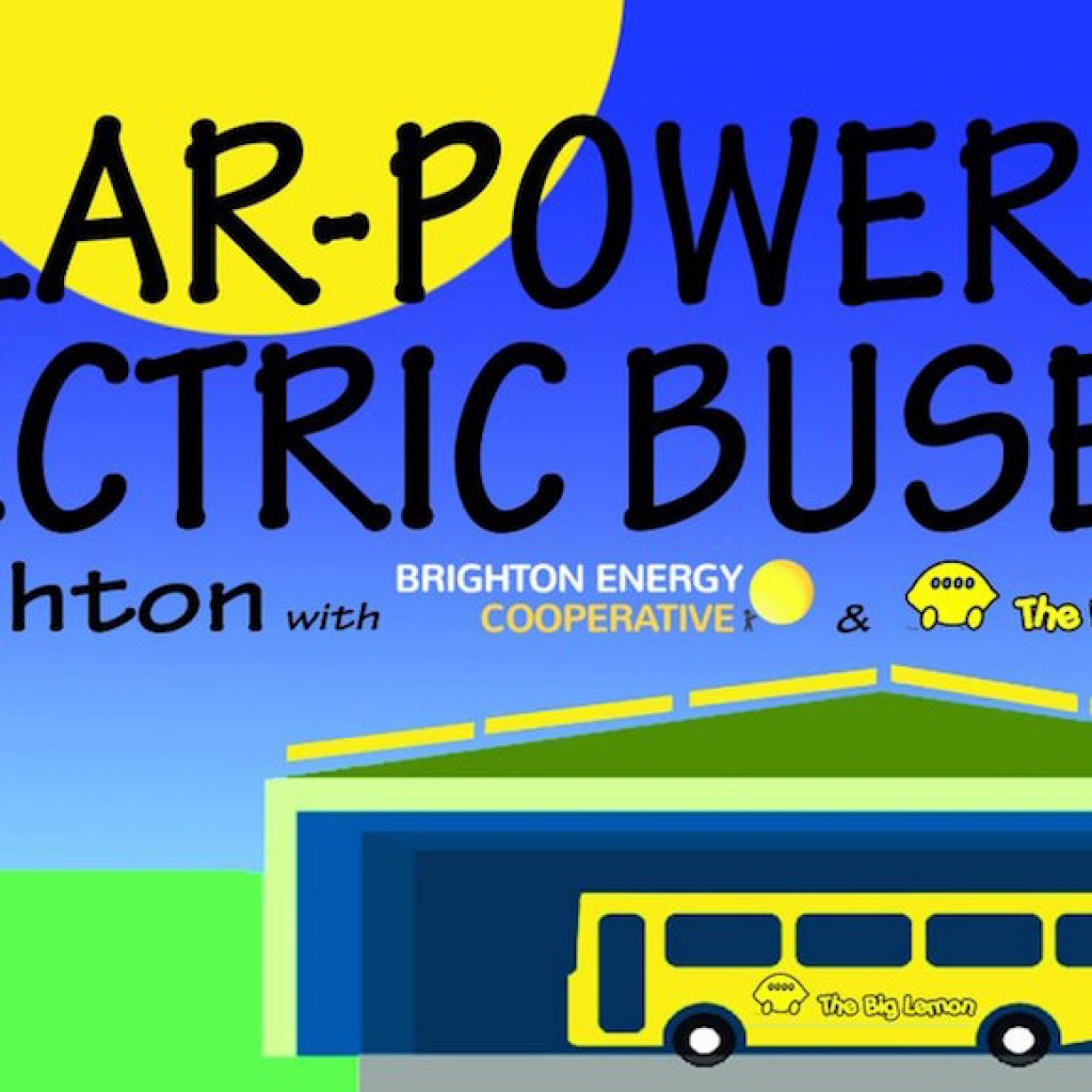 Bus with solarpower