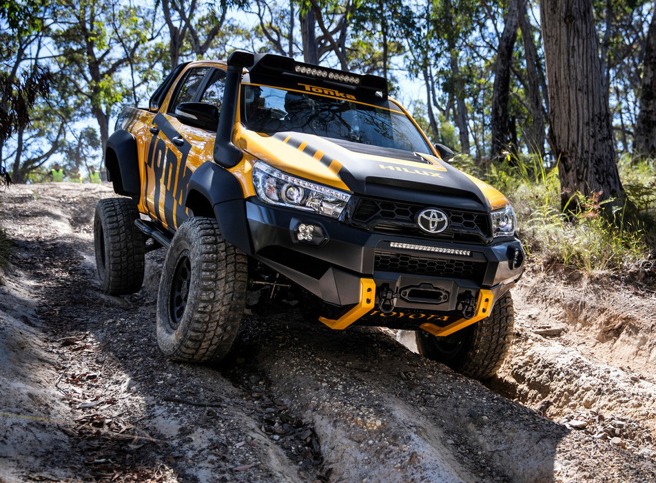 Toyota Hilux gets Tonka Treatment | BigWheels my