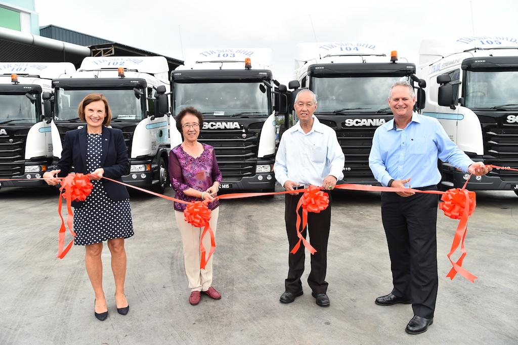 Scania truck handoverCSW_0318