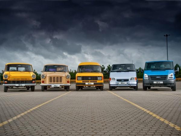 UK Five Decades of Ford Transit (UK)