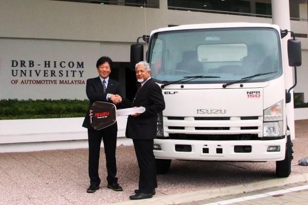 Photo - Isuzu Truck for Education Enhancement at DHU