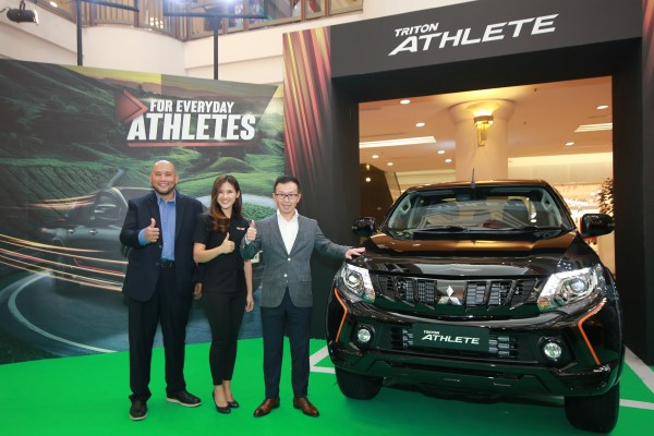 From MMM- COO, En. Ilham Helmi, Mitsubishi Brand Ambassador Leona Chin and CEO, Mr. Shinnishi