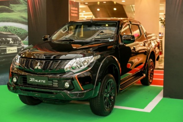 New Mitsubishi Triton Athlete