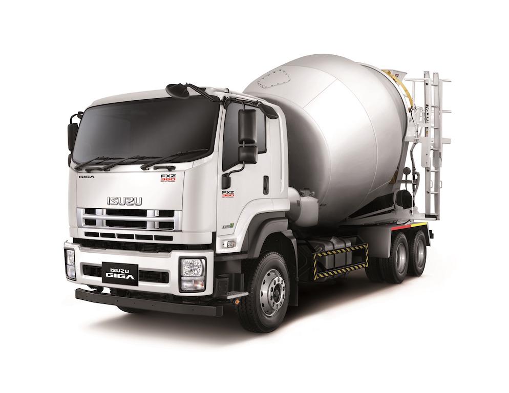Isuzu cement mixerPhoto - Isuzu FXZ360 Cement Mixer Truck Handover (4)