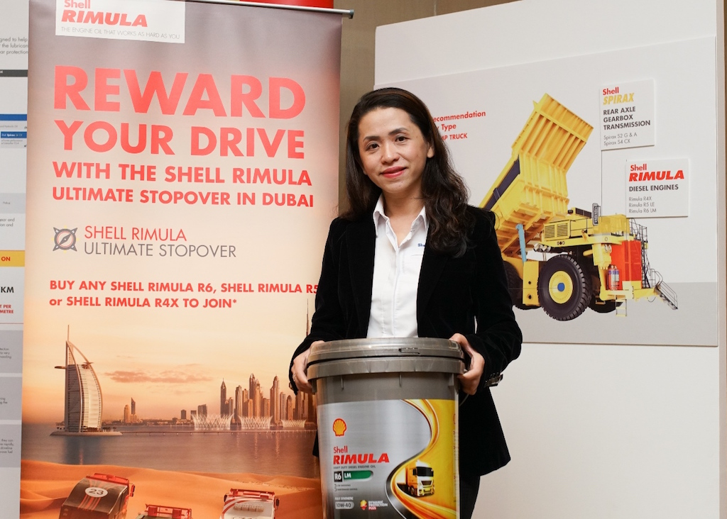 Shell Lubricants Mktg GM May Tan