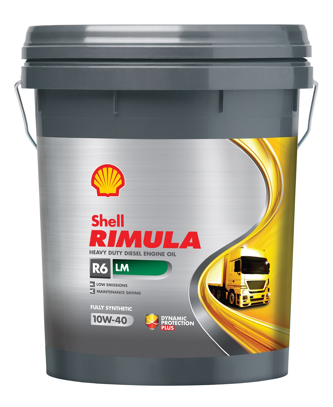 Shell Rimula R6 LM with API CK-4 specification