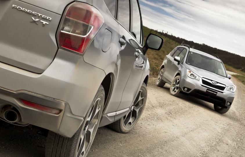 Subaru Forester offroad2