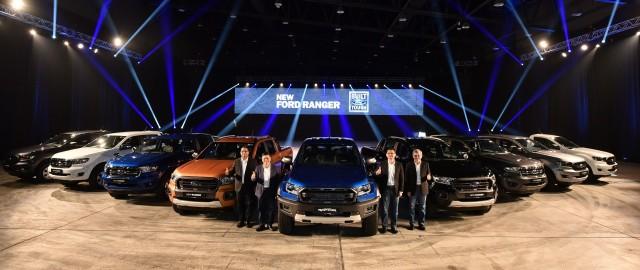 Variants Of The New Ford Ranger