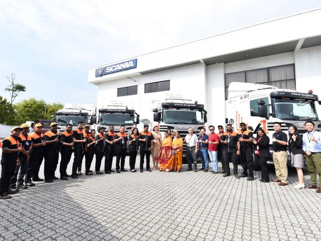 3_Scania team and AONE team in a partnership towards minimal downtime with Scania's end-to-end services