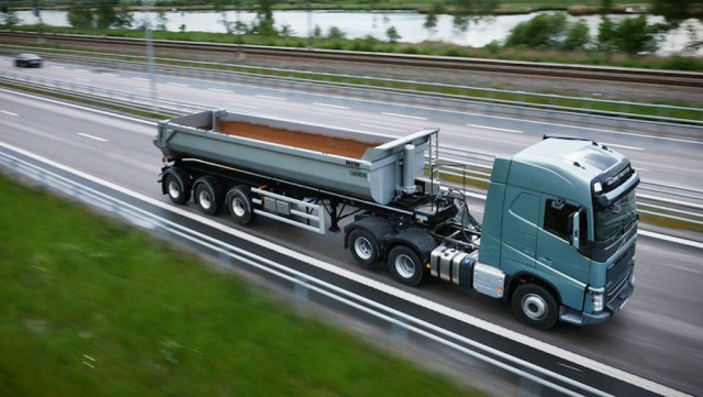 Volvo trucks i-save