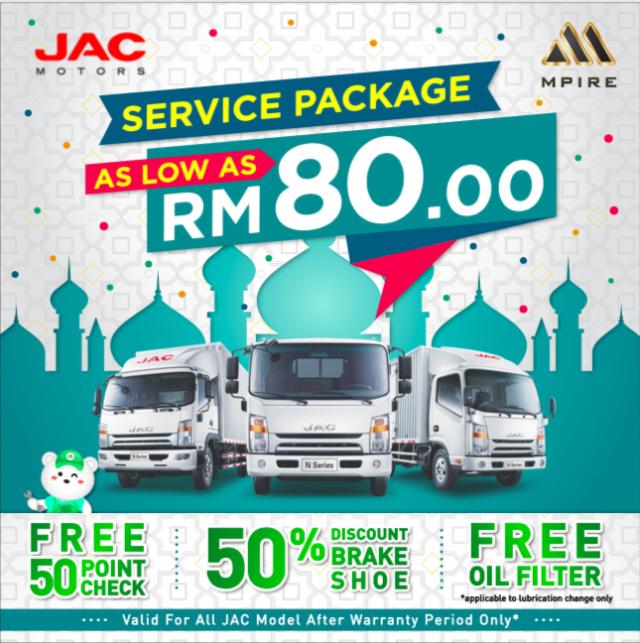 JAC service campaign