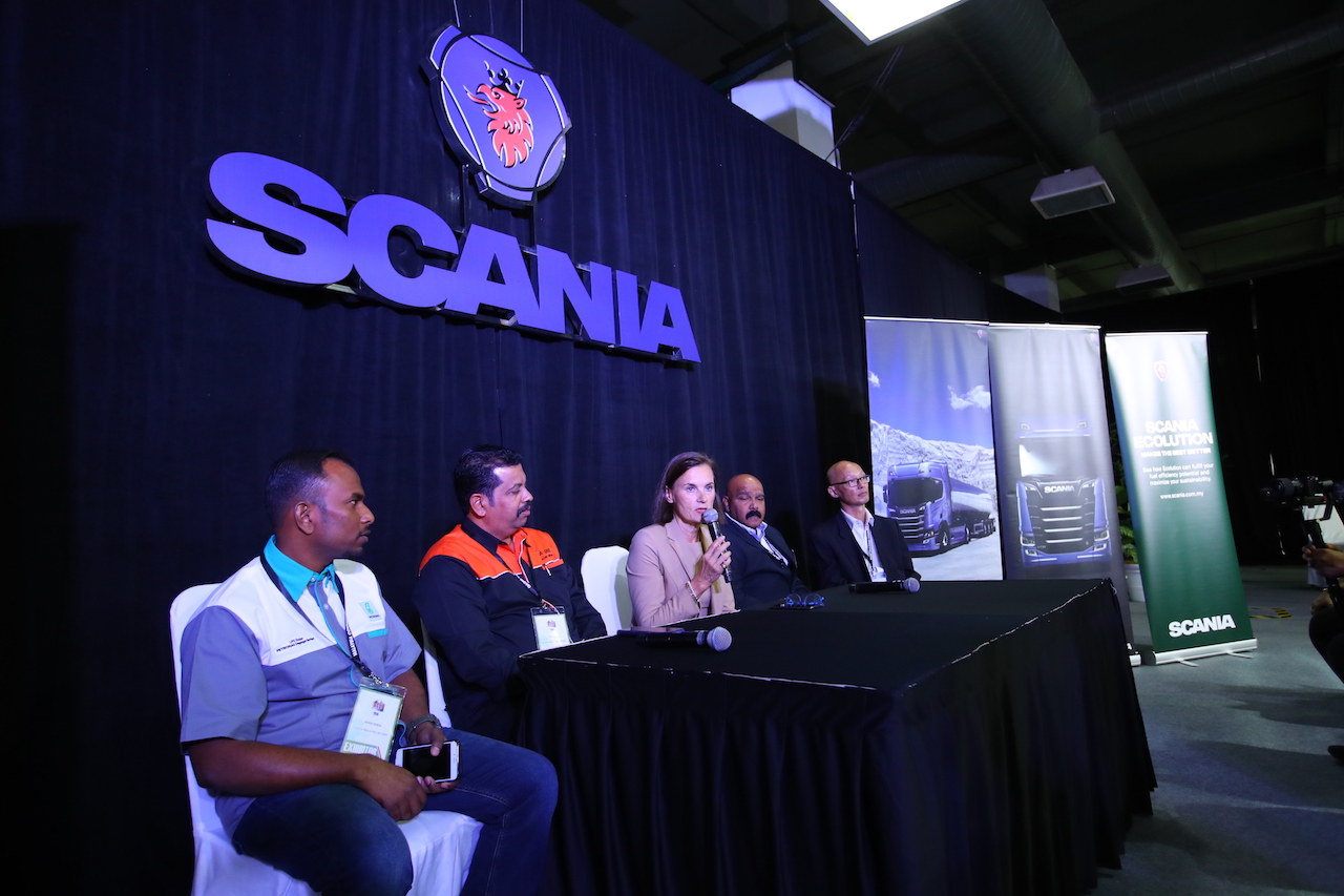 4- Scania Malaysia and its Scania Ecolution partners