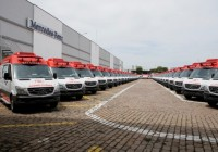 Brazilian Ministry of Health Buys 800 Mercedes-Benz Sprinter Ambulances