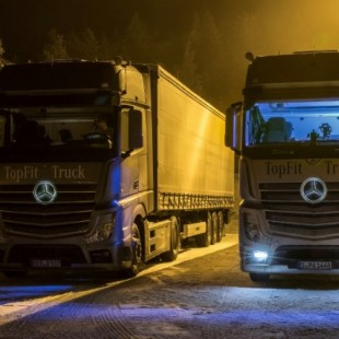 Daimler Studying the Benefits of Artificial Sunlight in Cabin on Truck Drivers