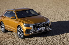 Audi Q8 shows its sexy curves