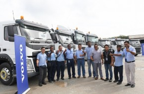 Volvo Trucks Malaysia To Deliver 28 Trucks to Konsortium PD Sdn Bhd