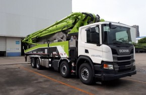 Scania Supplies Another 520 Trucks To Chinese Concrete Machinery Supplier Zoomlion