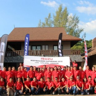 Isuzu Malaysia Brings Local Truck Bodybuilders Together