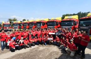 Scania Malaysia Hands 17 New Trucks Over To Gateway Shipping Sdn Bhd