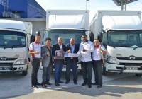 15 HINO 300 Series trucks for My World Logistics