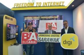 Digi and Bus Asia drive smart transportation in Sarawak