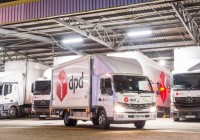 Fuso world's first fully electric light-duty truck
