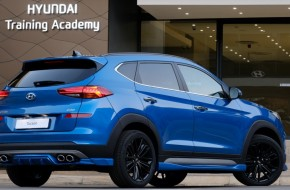 Hyundai Tucson modded for African markets