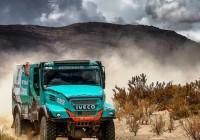 PETRONAS De Rooy IVECO team takes Dakar 2017 podium