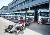 IVECO teams with Alfa Romeo Racing