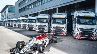 IVECO teams with Alfa Romeo Racing