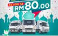 JAC offers servicing from as low as RM80.00